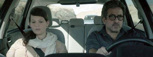 """עם מנשה נוי בסרט """"היום שאחרי לכתי"""". """"לקחתי ממנו המון"""" (צילום: באדיבות מקור קבוצת קולנוע)"""