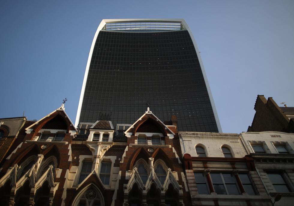 המגדל ''זכה'' בפרס הבניין המכוער ביותר בבריטניה לשנת 2015 (צילום: Gettyimages)