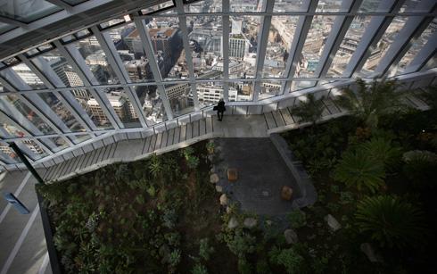 ''סקיי גארדן'' במרומי המגדל המושמץ (צילום: Gettyimages)