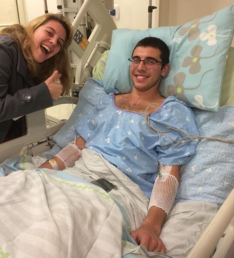Ади Коган в больнице
