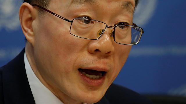China's UN ambassador (Photo: Reuters)