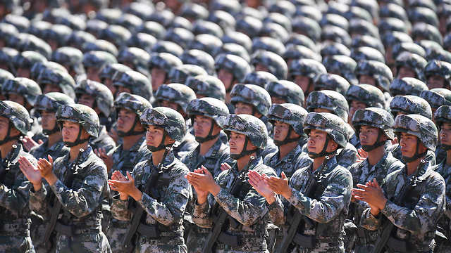 מעורבות ישירה בסוריה לפי הדיווחים. צבא סין (צילום: AFP) (צילום: AFP)