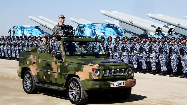 צבא סין (צילום: AP) (צילום: AP)