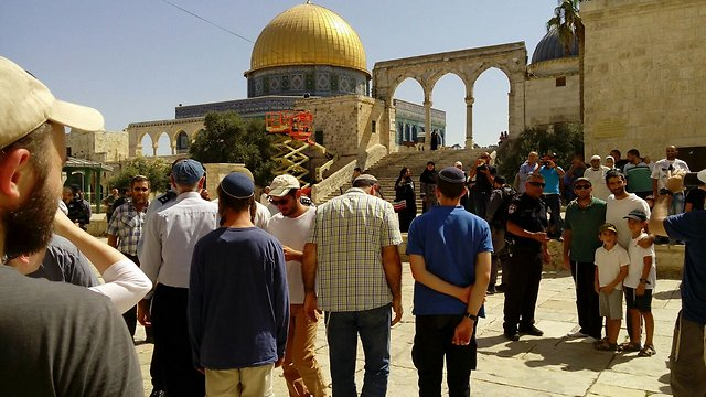 At least 12,135 Jews visited the Temple Mount since September (Photo: Yeraeh)