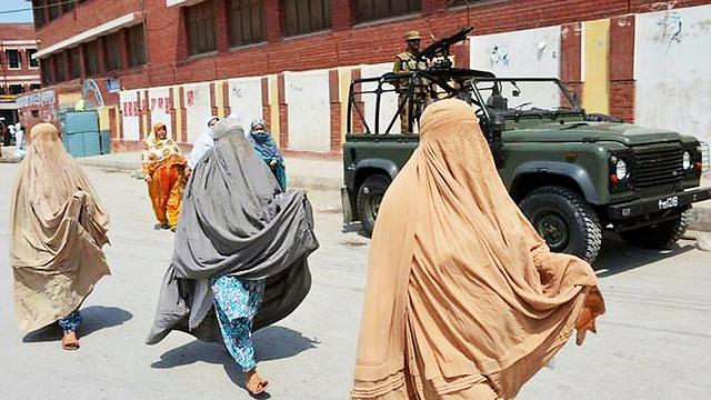 נשות הטליבאן  (צילום: AFP)