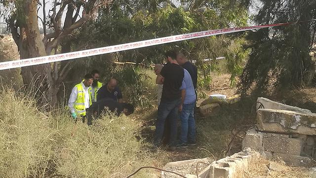 The scene where Halimi's body was discovered (Photo: Police Spokesperson's Unit)
