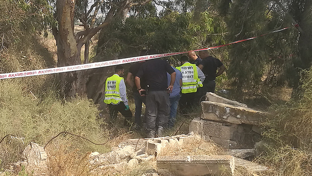 Police discover Halimi's body (Photo: Israel Police)