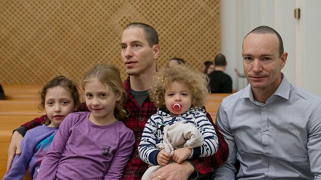 משפחת ארד פנקס (צילום: אוהד צויגנברג) (צילום: אוהד צויגנברג)