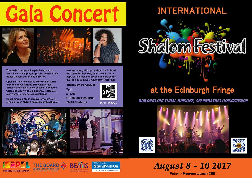 The Shalom Festival's program