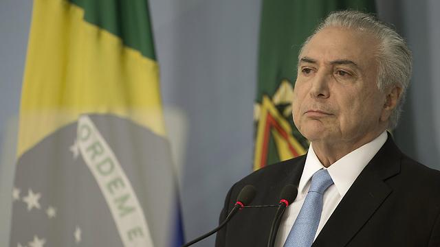 היה אמור לקבל מיליוני דולרים בעסקת שוחד? נשיא ברזיל טמר (צילום: EPA)