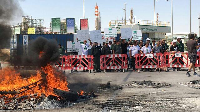 עובדי חיפה כימיקלים דרום. ועד העובדים יכול לעזור אך לא למנוע
