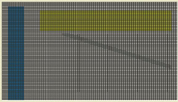 כשהנקודות קטנות מאוד ורבות מאוד, גם הקו האלכסוני נראה חלק יותר (איור: גל וינר)