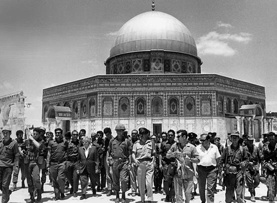 יוני 1967: הר הבית בידינו