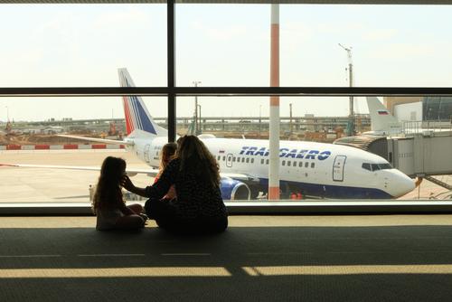 В аэропорту Бен-Гурион. Фото: StockStudio shutterstock
