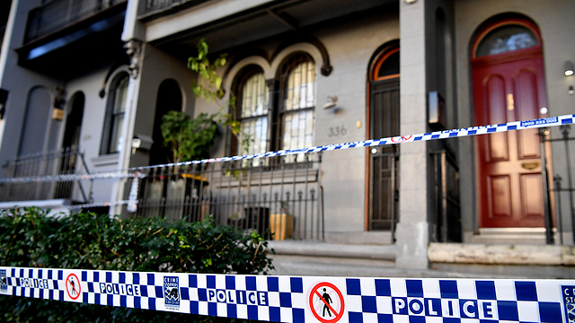 Raid of the suspects' homes in Sydney (Photo: EPA)