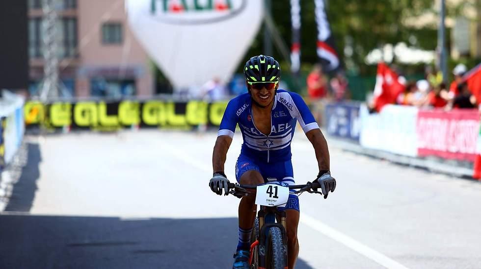 חמישי באליפות אירופה לנוער. זלצמן (צילום: Alessandro Di Donato)