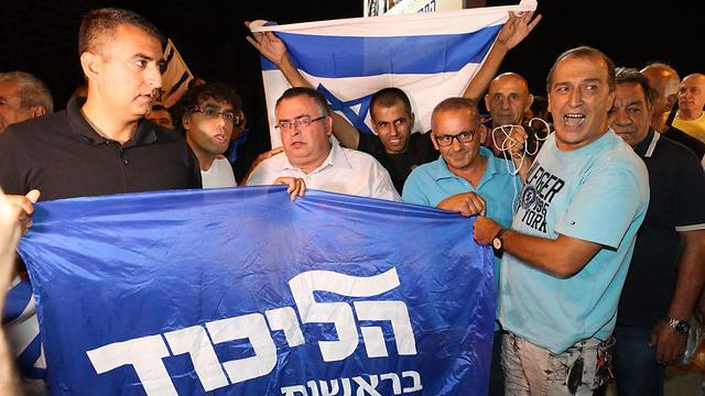 Likud supporters (Photo: Motti Kimchi)