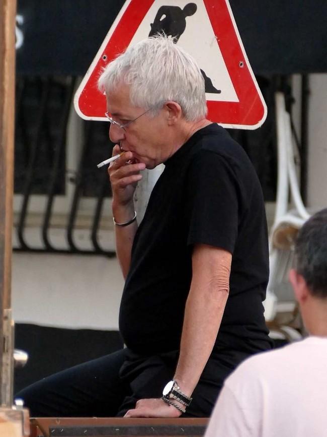 אז מאוחר מידי להגיד לך להפסיק לעשן, אה? (אמיר מאירי)