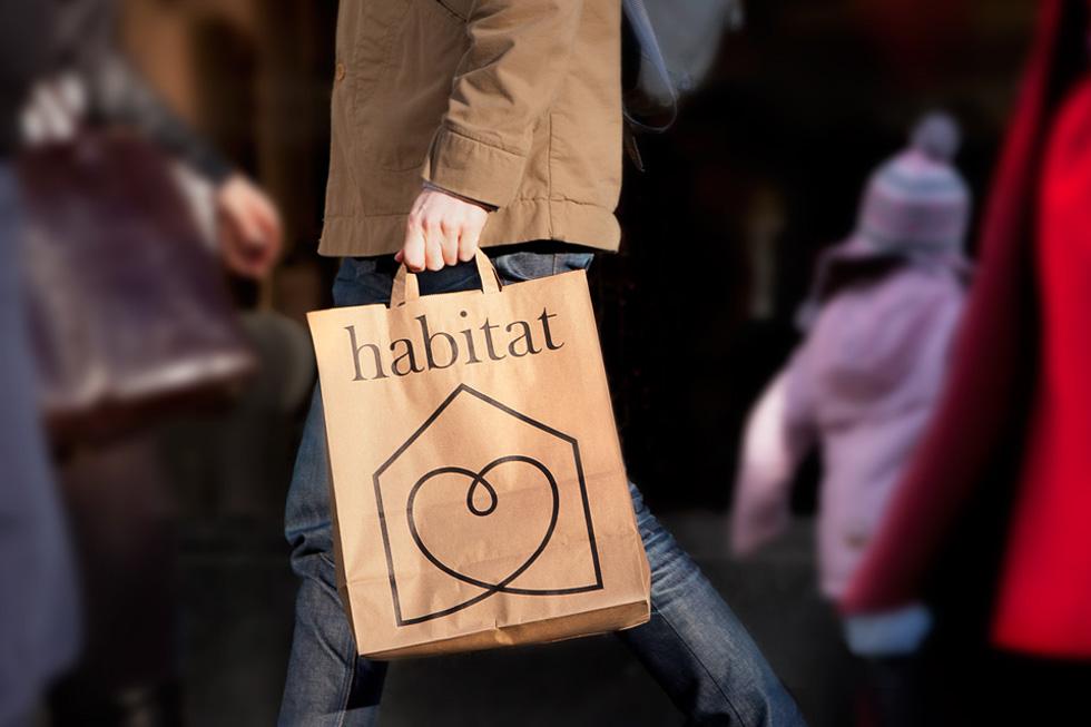 אחד ממהלכי המיתוג היפים: לב פוגש בית בלוגו המפורסם של ''הביטאט'' הבריטית