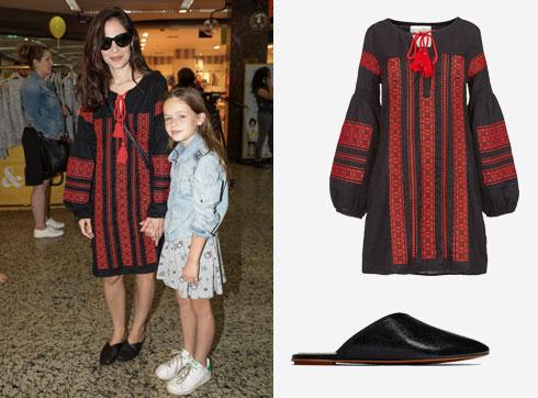 """נטע גרטי לובשת גלבייה מושלמת של המותג """"גלביה"""" (690 שקל) ומתאימה לה נעליים של זארה (249 שקל) (צילום: רפי דלויה, עדי גלעד ובאדיבות Zara)"""