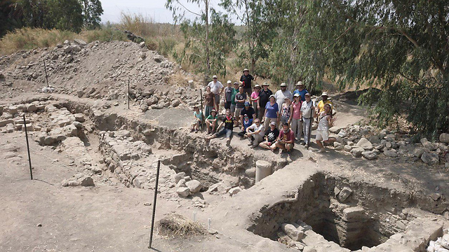 בית המרחץ שנמצא באתר החפירות הארכיאולוגיות  (צילום: זקרי וונג)