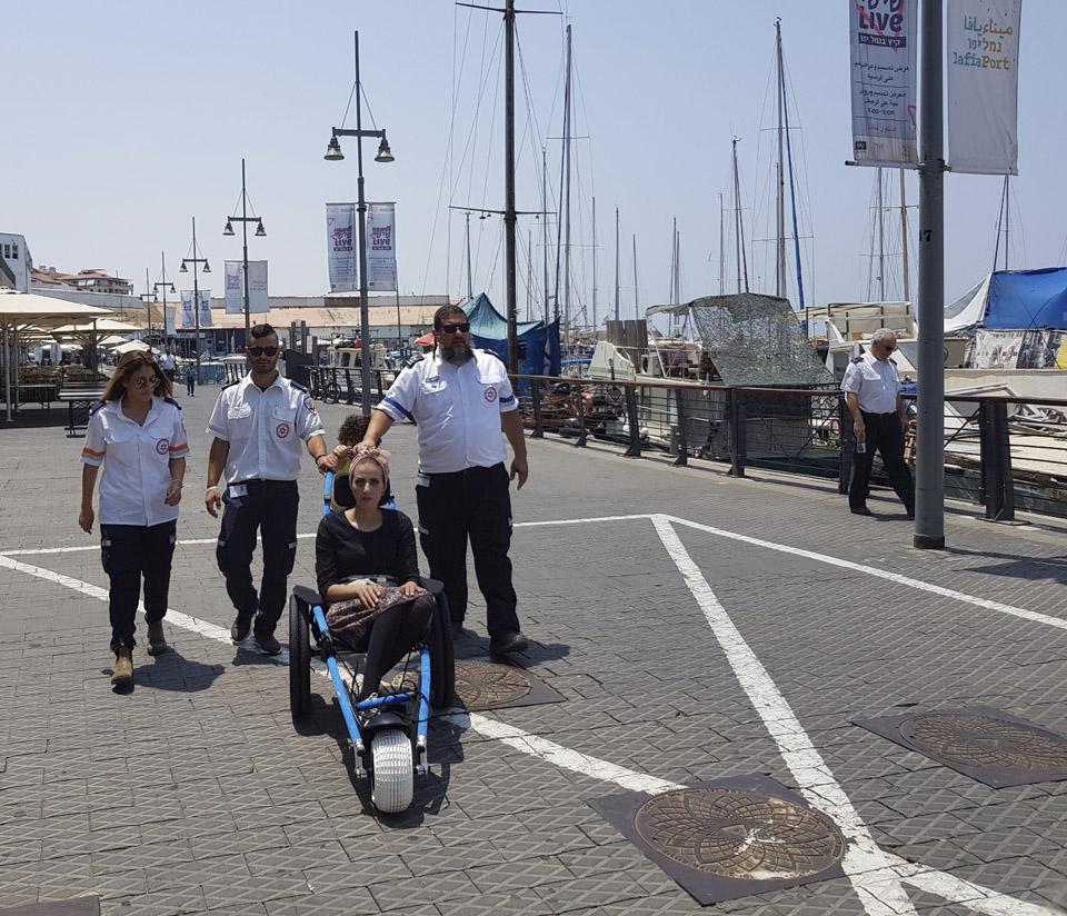 Самия в порту Яффо