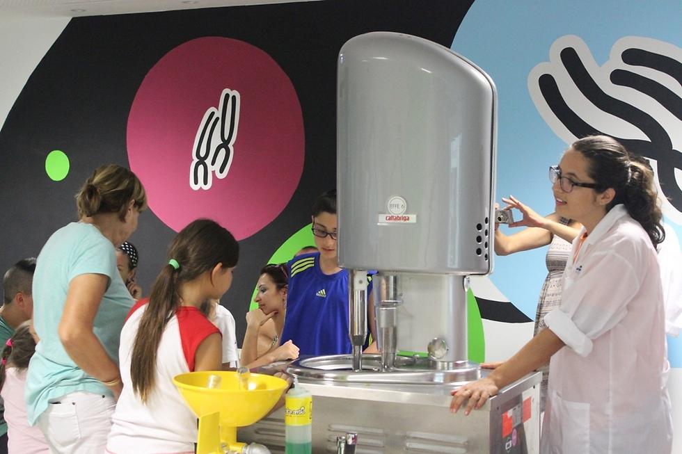 מכינים גלידה ולומדים