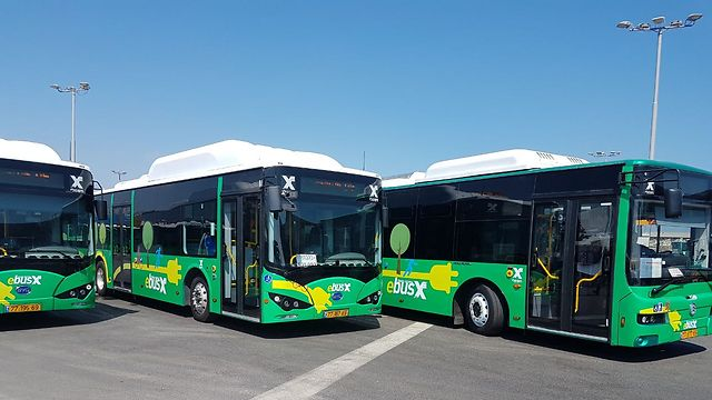 Электробусы. Фото: Ахия Равед
