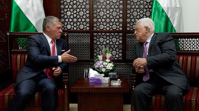 2011 óta ez volt Abdullah első Rámalláh-i látogatása.
