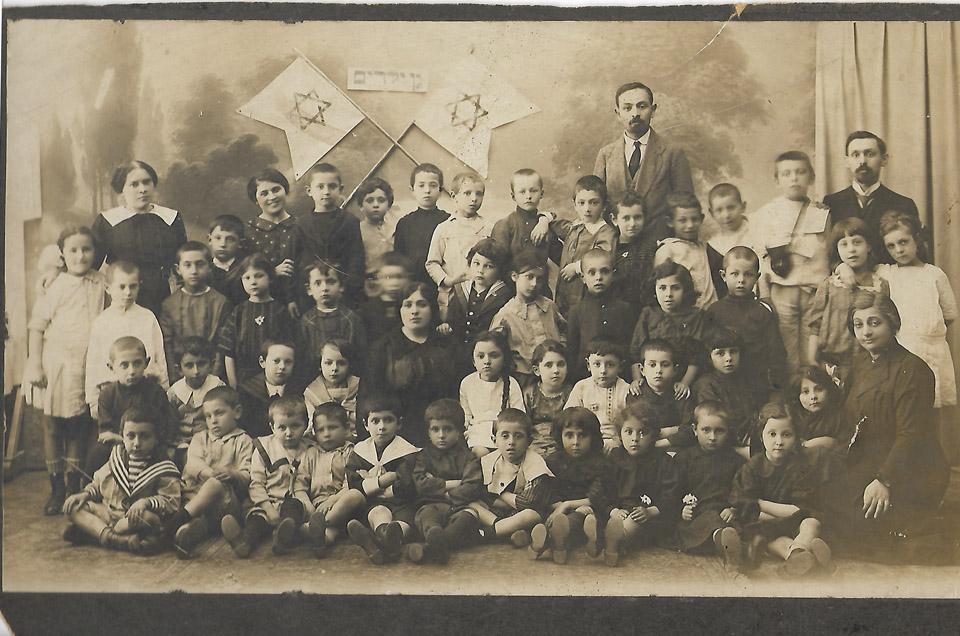 Детский сад в Баку, 1914 год