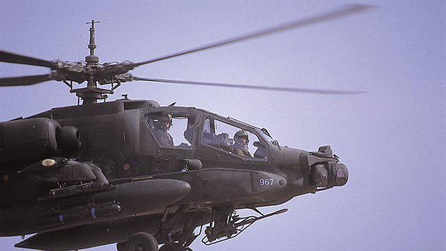 מסוק אפאצ'י. ארכיון  (צילום: אתר חיל האוויר)