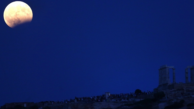 Затмение в Греции. Фото: ЕРА