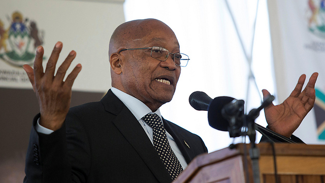 נשיא דרום אפריקה ג'ייקוב זומה (צילום: רויטרס)