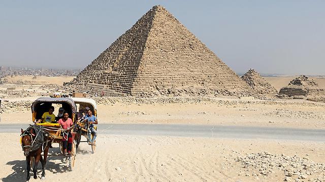 הפירמידה בגיזה. קברו של פרעה חופו (צילום: רויטרס)