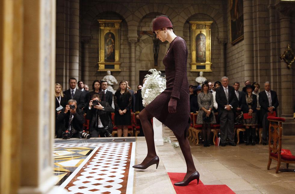 סוללת את דרכה לרשימת המתלבשות הטובות ביותר בעולם (צילום: AP)