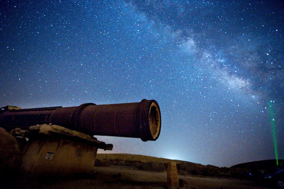 לילה של כוכבים, מטר המטאורים מגיע (צילום: שחר כהן)