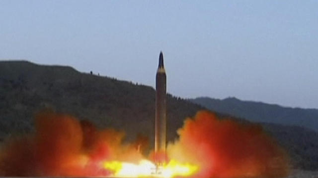 Hwasong-12 test launch (File photo: AP)