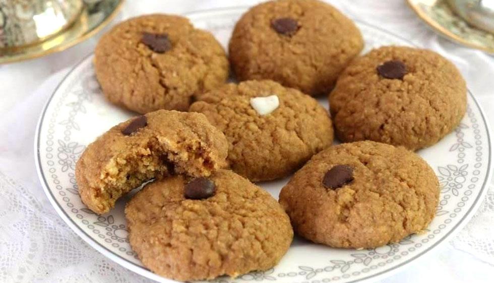 עוגיות חמאת בוטנים מ-3 מרכיבים  (צילום: דורית מנו-טל אור)