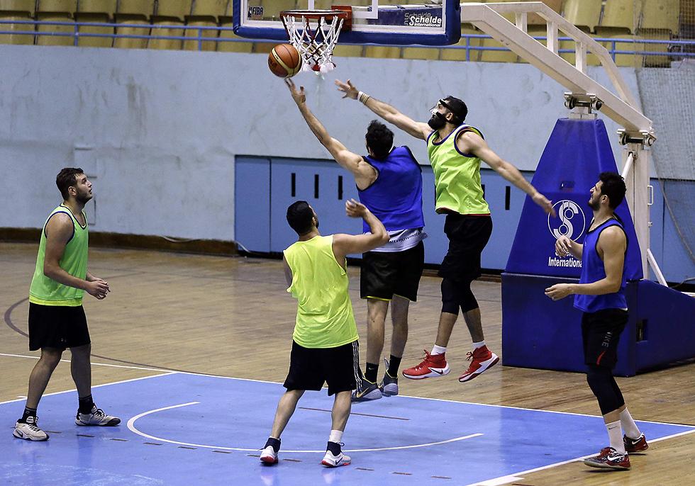 ההכנות של הנבחרת לטורניר (צילום: AFP)