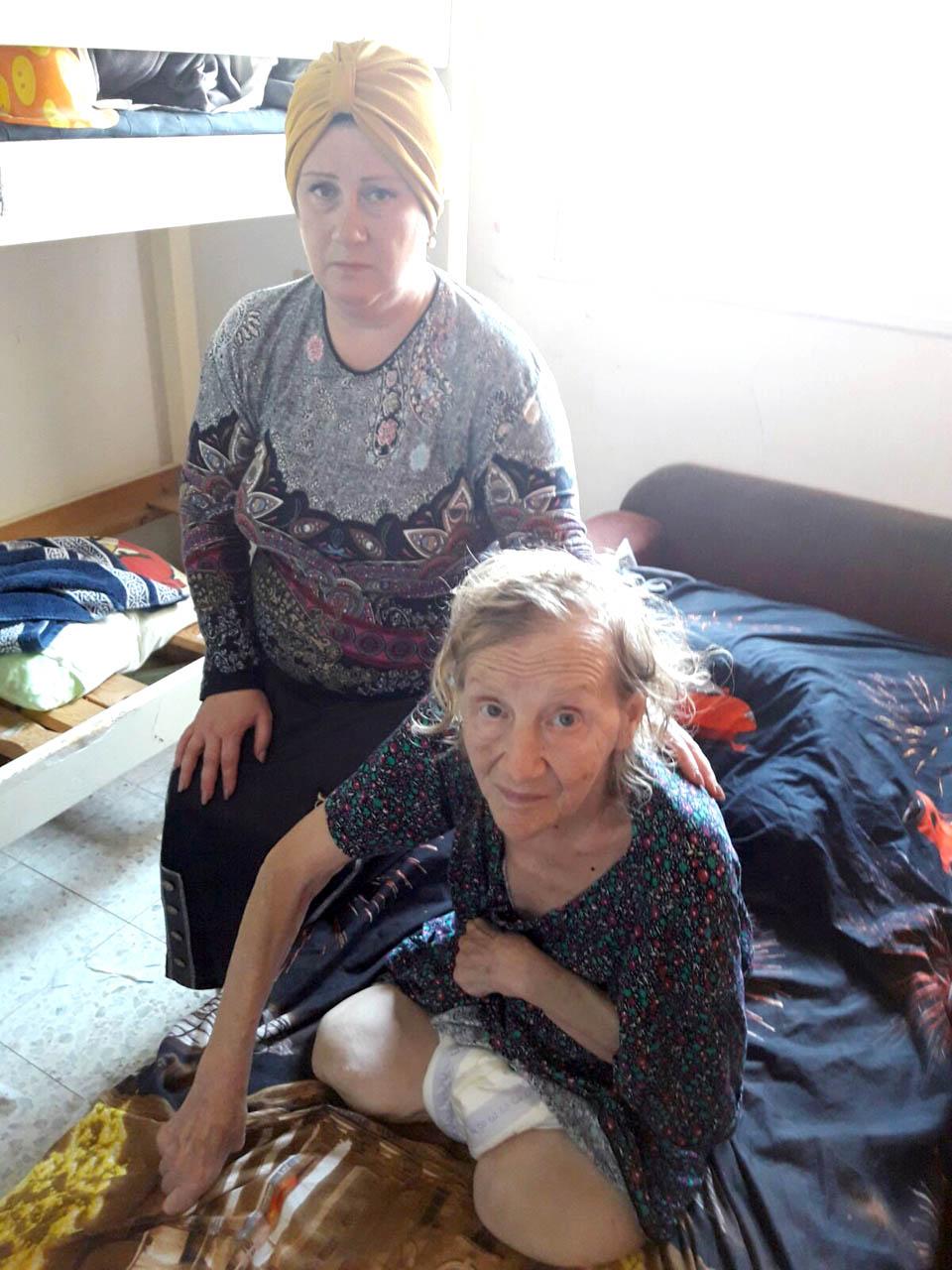 Рахель Фабрикант с больной матерью