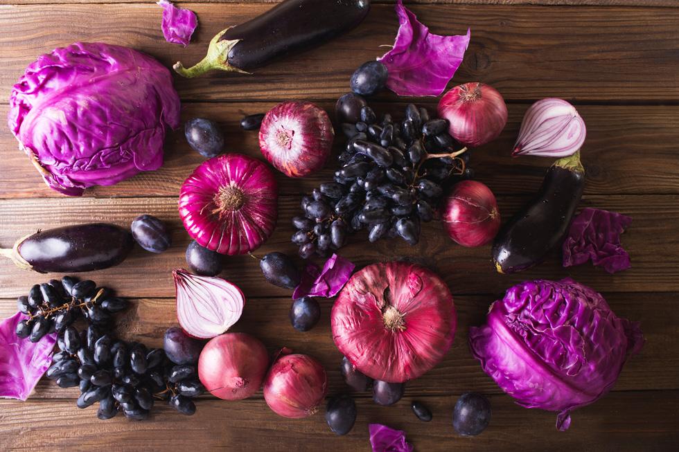 מה שיותר סגול יותר בריא? (צילום: Shutterstock)