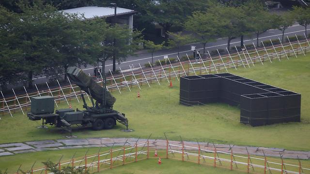 סוללות פטריוט שנפרסו בטוקיו (צילום: רויטרס)