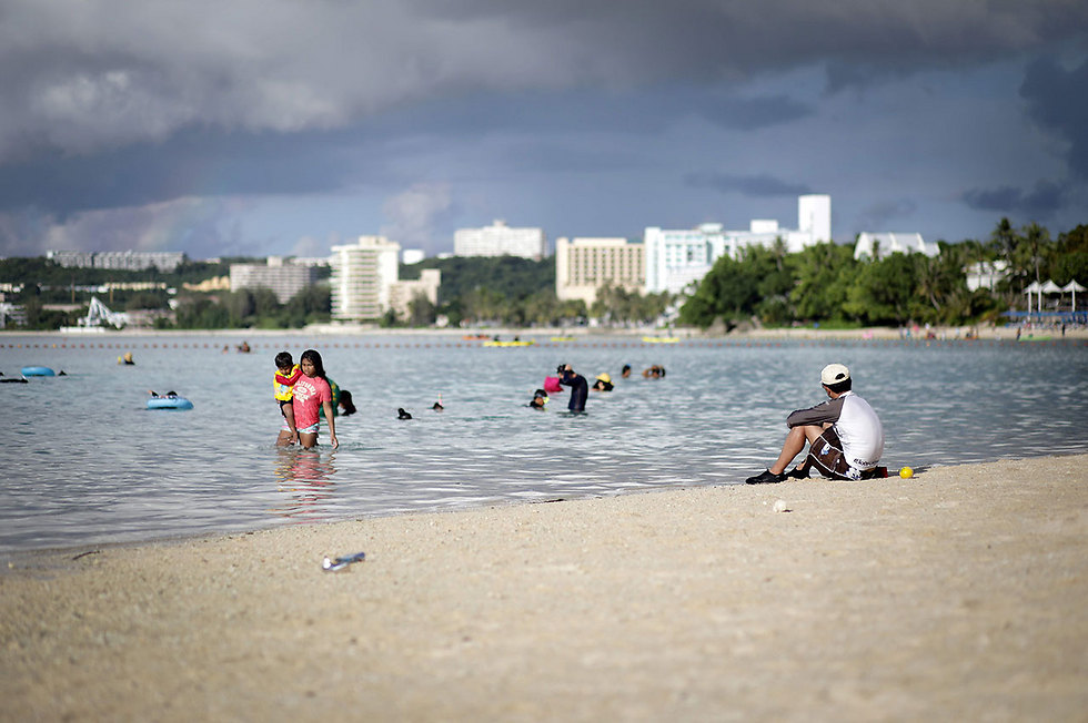 The island of Guam (Photo: AFP)