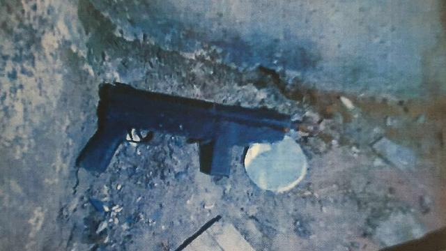 Weapon seized by security forces during a raid on the brothers' home (Photo: Shin Bet)