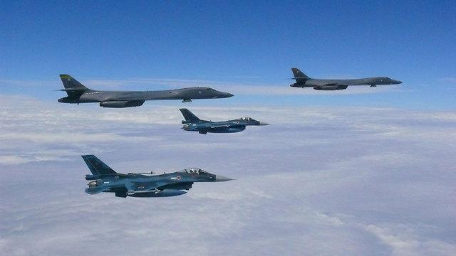 הכוח האווירי של ארצות הברית באוקיינוס השקט (צילום: U.S. Pacific Command)