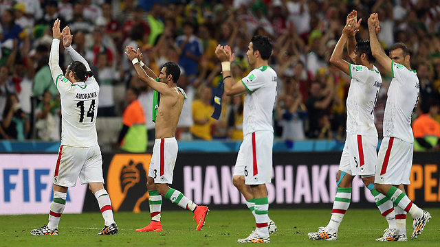 Iranian national soccer team (Photo: AFP)