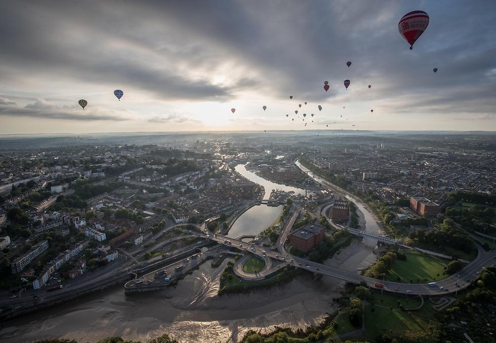 פטסיבל הכדורים הפורחים הבינלאומי בבריסטול, אנגליה (צילום: gettyimages)
