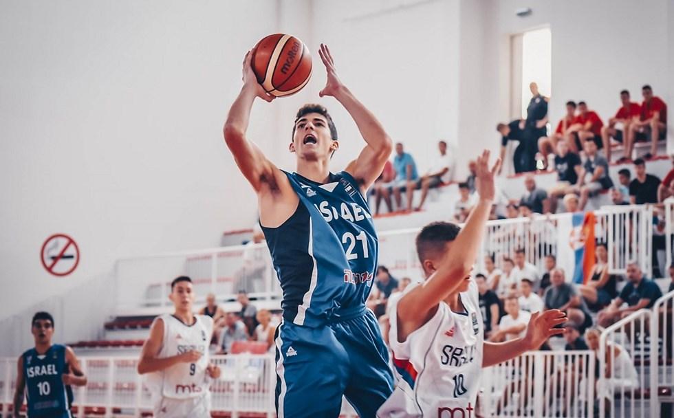 חיון. סיים עם 18 נקודות (צילום: FIBA)