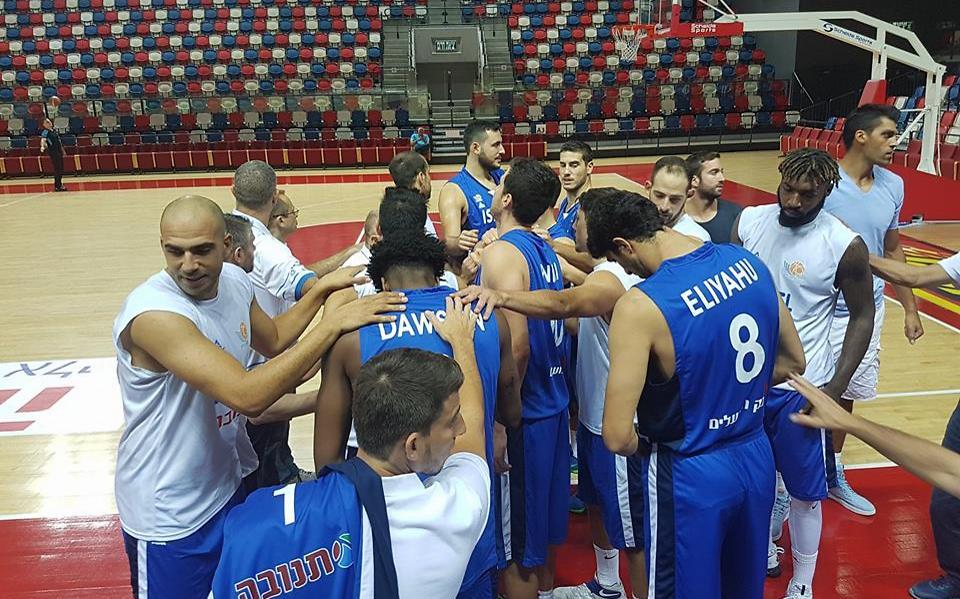 נבחרת ישראל (צילום: איגוד הכדורסל)