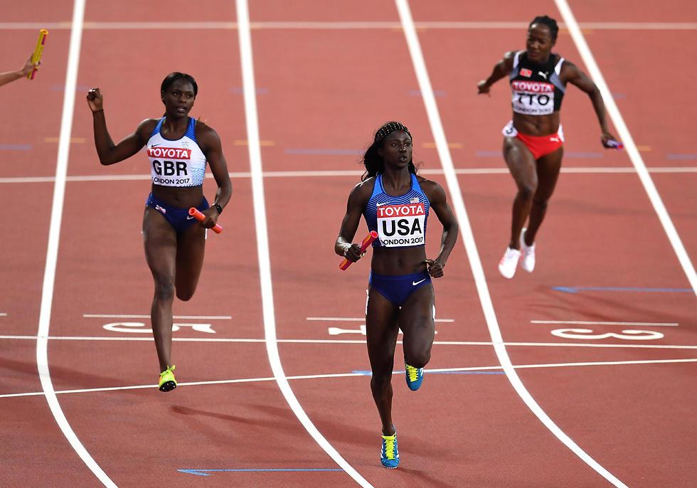 """טורי בואי מובילה את ארה""""ב לניצחון (צילום: getty images)"""